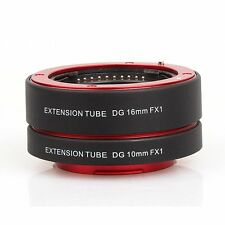 Auto Focus Macro Extension Tube Adapter for Fuji FX Camera Fujifilm X-A2 X-T1