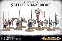 Warhammer Age of Sigmar: Deathrattle Skeleton Warriors NEU und OVP