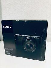 Sony Cyber Shot DSC RX100 Mark I, cámara digital, 20.2 Mp, Full HD 1080, F 1.8