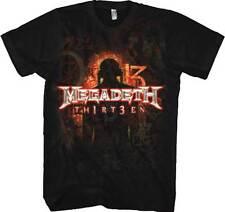 Megadeth - TH1RT3EN - T SHIRT S-M-L-XL-2XL Brand New - Official T Shirt