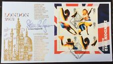 SIR STEVEN REDGRAVE, Rower, Gold x5 Signed 5.8.2005 London 2012 Olympics Bid FDC