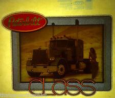 peterbilt trucks class 80s vintage retro tshirt transfer print new NOS