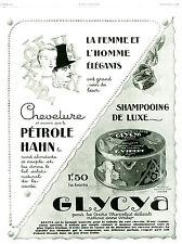 Publicité ancienne la femme et l'homme élégants 1928  issue de magazine