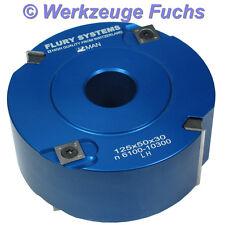 FLURY SYSTEMS HM WPL Falzkopf 125x50mm Fügefräser Falzfräser Alu