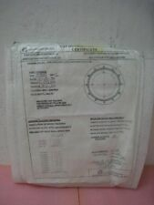 Amat 0010-31547 Gas distribution, Plate, Perf w/Data Sheet