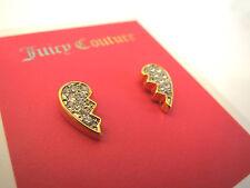 Juicy Couture BEST FRIEND STUD EARRINGS NWT #YJRU7702