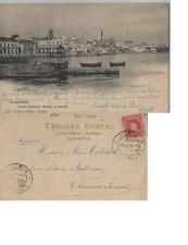 Tarjeta Postal. ALGECIRAS. (Cádiz). Vista general desde la Bahía.