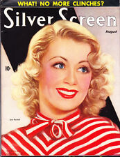 SILVER SCREEN (08/1937) JOAN BLONDELL ON COVER, ,