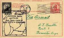 Etats Unis USA 1ers vols first flights airmail 220