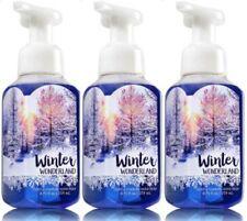 3 Bath & Body Works WINTER WONDERLAND Gentle Foaming Hand Soap