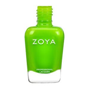 Zoya Nail Polish Easy Neon Link ZP1090 Summer 2021. Full Size. Wide Brush.