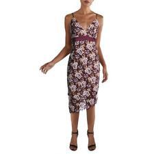Бордо женская георгина кружевное коктейльное платье-комбинация bhfo 1263