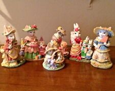 """Set of six Irs poly resin figurines."""" See my individual listings for details"""""""