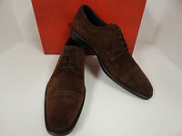 Donald J Pliner Boss-23 Brown Sport Suede Leather Italian Cap Toe Oxfords-New