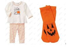 NWT GIRL GYMBOREE HAPPY HARVEST FALL IN LOVE TWO PIECE SET HALLOWEEN 18-24 MONTH