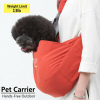 Portable Pet Cat Puppy Carrier Adjustable Sling Backpacks Outdoor Carrie 5@%