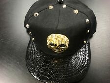 Men's Skull Diamond Metal Different style Snap back Baseball Cap/Hats