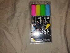 MARVY UCHIDA   6mm   480-4H 4-Piece Bistro Chalk Marker
