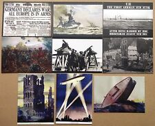 WW1 - 1914 Cult-Stuff 18 x Base Trading Card + 9 x Preview Card Set New Release