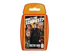 *NEW* 11th Dr Doctor Who TOP TRUMPS Who's The Scariest - Card Game - Matt Smith