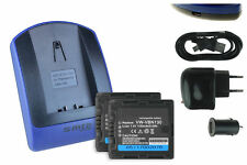 2x Baterìas + USB Cargador VW-VBN130 para Panasonic HC-X920, X920M, X929
