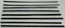 1966-67 DODGE / PLYMOUTH  COUPE WINDOW BELTLINE WEATHERSTRIP KIT (8 PIECES)
