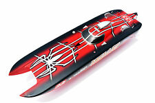 DT E51 Fiber Glass Spider Man Electric RC KIT Boat Hull Only for Skilled Player