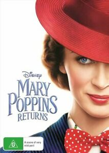Mary Poppins Returns DVD