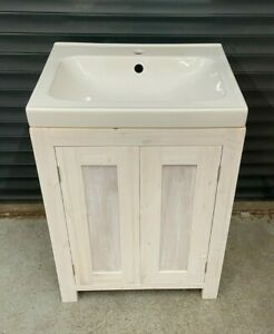 Vanity Unit Overlay Ceramic Sink