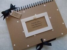 Personalised Handcrafted A4 Memories Photo Album Scrapbook Multi Use QUICK POST