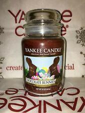 Yankee Candle Large Jar Chocolate Bunnies Easter 22oz 623g