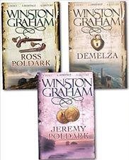 Winston Graham_3 Libro Poldark Set Ross Jeremy Tiziano __ Nuovo _