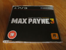 Max Payne 3 PROMO – PS3 (Full Promotional Game) PlayStation 3 ~ Rockstar