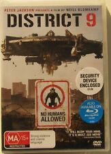 DISTRICT 9....BRAND NEW AND SEALED REGION 4 DVD