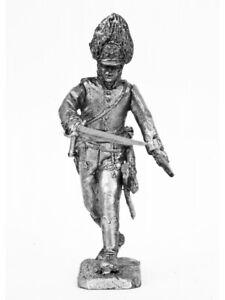 Tin soldier Officer of the Austrian Grenadier Regiment 1805 54 mm