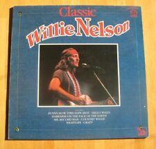 Willie Nelson--Classic Willie Nelson--1975 British Import Vinyl LP