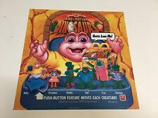 """1992 McDonalds Happy Meal Translite Sign Store Display 13""""x13"""" Dinosaurs TV Show"""