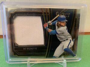 2020 panini select baseball bo bichette Relic Patch Card /199