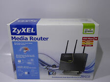 ZyXEL Wireless N Gigabit Router, 802.11a/b/g/n, Dual Mode 2.4GHz und 5 GHz #N110