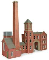 Metcalfe - PO284 - Boiler House with Chimney and Factory Entrance (OO Gauge)