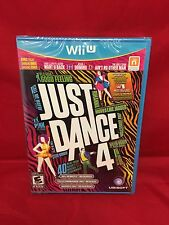 Just Dance 4 Brand New Sealed For Nintendo WII U