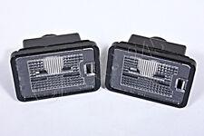 Genuine License Plate Lights PAIR MERCEDES GLK-Class X204 GLK350 2010-2012