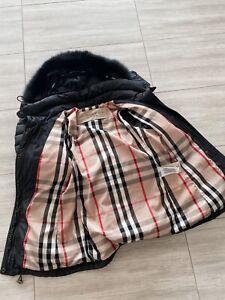 BURBERRY Brit Puffer DuckDown Jacket. Size S. Women Jumper. Coat. 100% Authentic