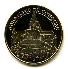 12 CONQUES Abbatiale, Le chevet, 2012, Monnaie de Paris