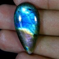 Labradorite Cabochon 68X22X7 MM 81 Cts African Labradorite Labradorite Polished Cabochon Purple Labradorite Multi Color Code MK-1003