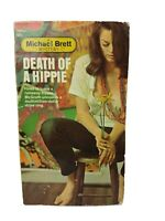 Vintage 1968 Death Of A Hippie By Michael Brett 1st Print paperback
