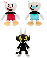 "10"" Cuphead Game Mugman Plush Doll Mecup Brocup Devil Figure Kid Birthday Gift"