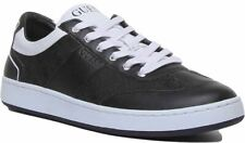 Guess Fm7Thmfal12 A-Thomas Lace Up Casual Trainer In Black White Size Uk 6 - 12