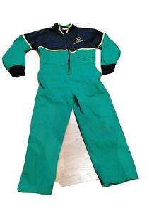 Childrens Kids Genuine Green John Deere Overalls Boilersuit age 3-4 yrs.