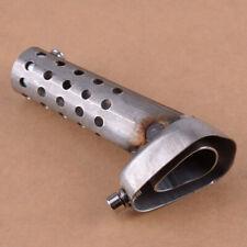 Motorrad Schalldämpfer Pipe DB Schalldämpfer Einstellbarer Schalldämpfer 11,7cm